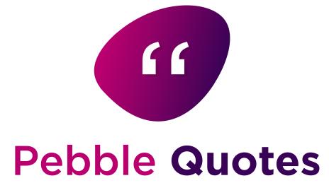 Pebblequotes